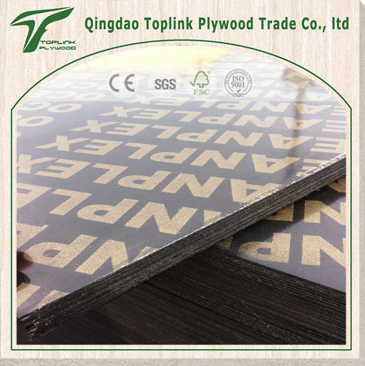 Factory Brown / Black Film Faced Plywood Finger Joint Construction Plywood