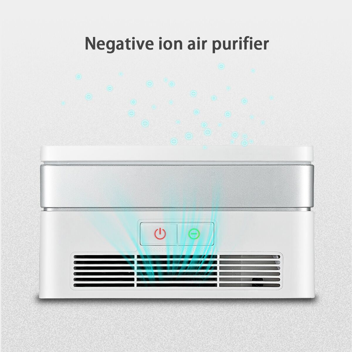 Negative Ion Air Purifier with UV Lamp for Both Car and Office