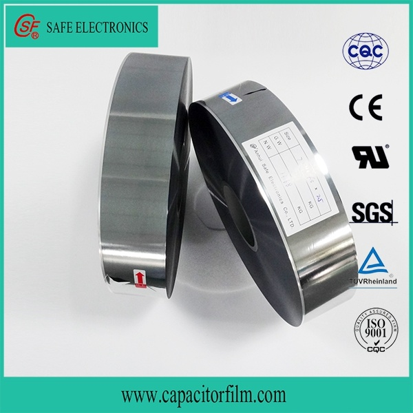 Metallized BOPP Film for Capacitor (mpp AlZlMPP)
