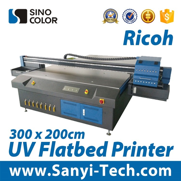 UV Printer Uvledfb-2030r with Ricoh Head From Sinocolor