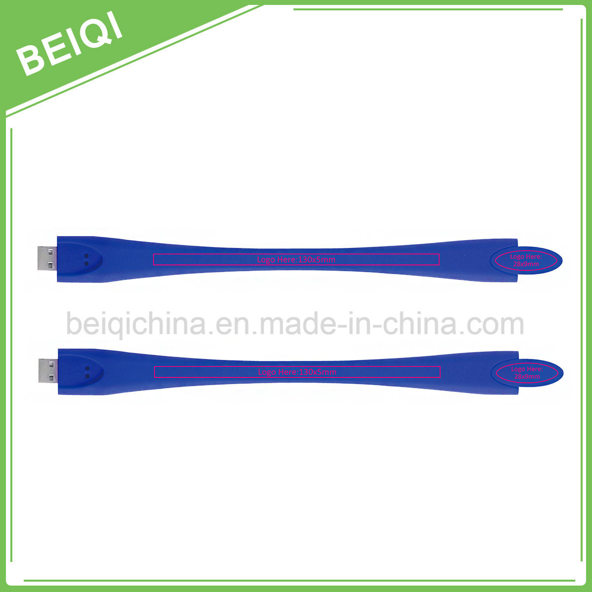 Promotional Custom Silicone Bracelet USB Flash Driver/USB Flash Stick