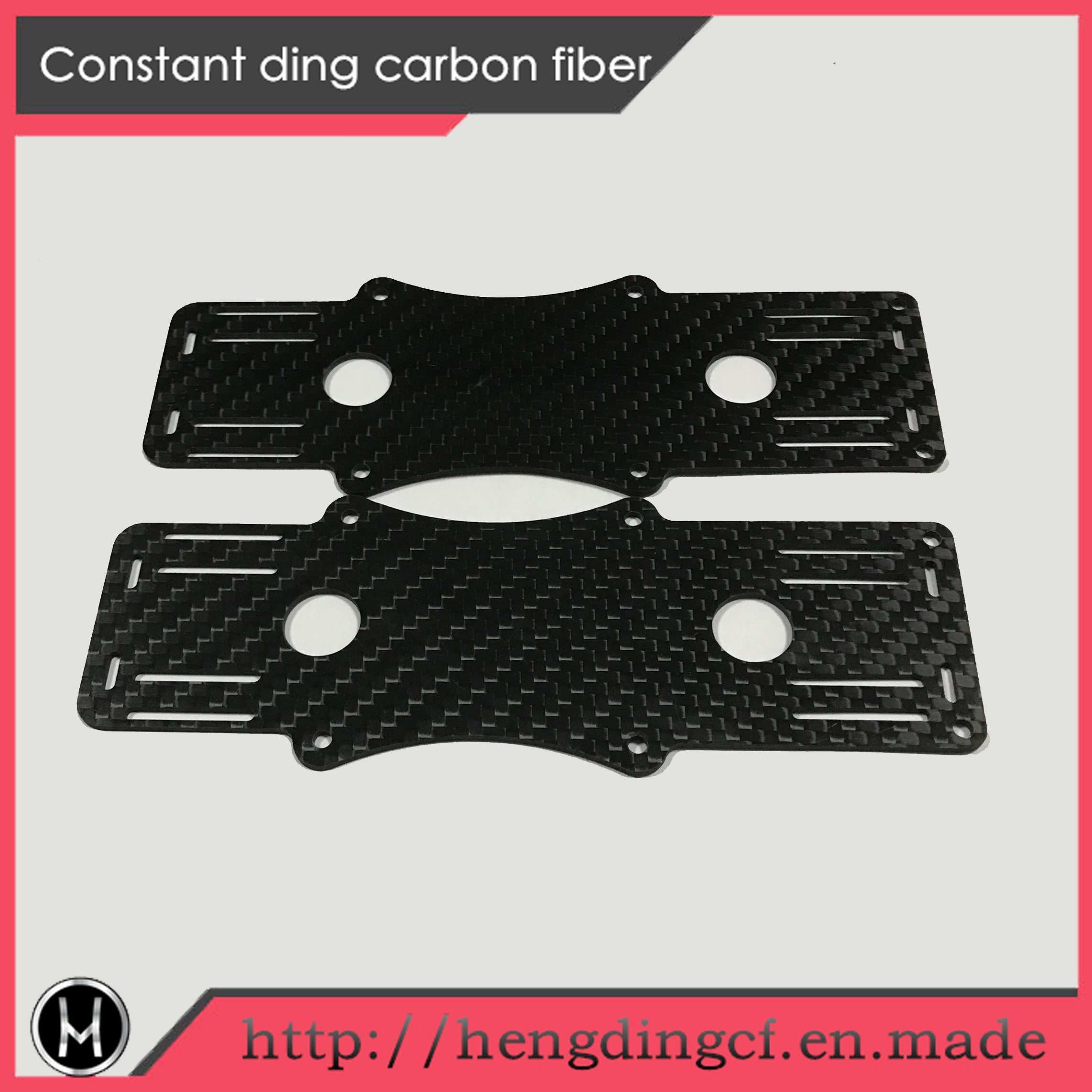 CNC Finishing Plain Carbon Fiber for Uav
