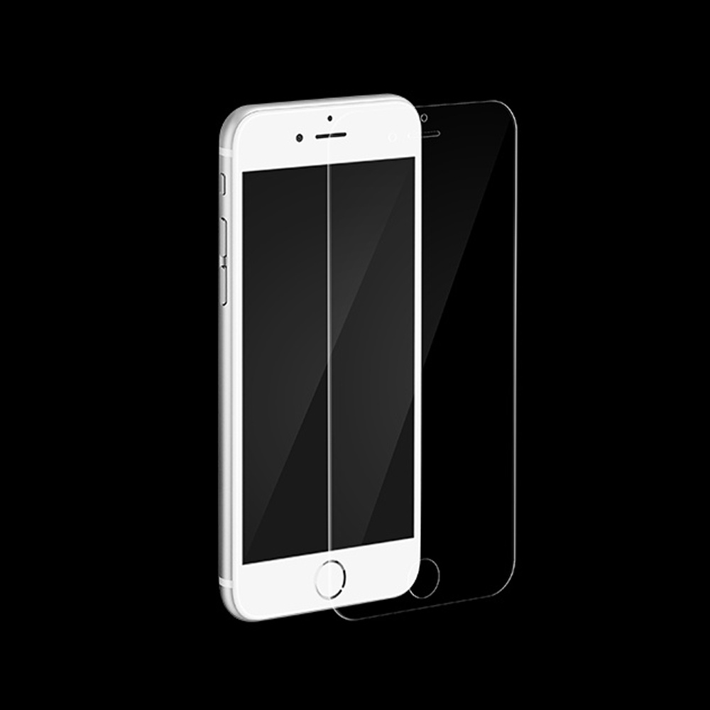 2.5D Standard Round Edge Tempered Glass Screen Protector with Protective Blue Film for iPhone 6/ iPhone 7