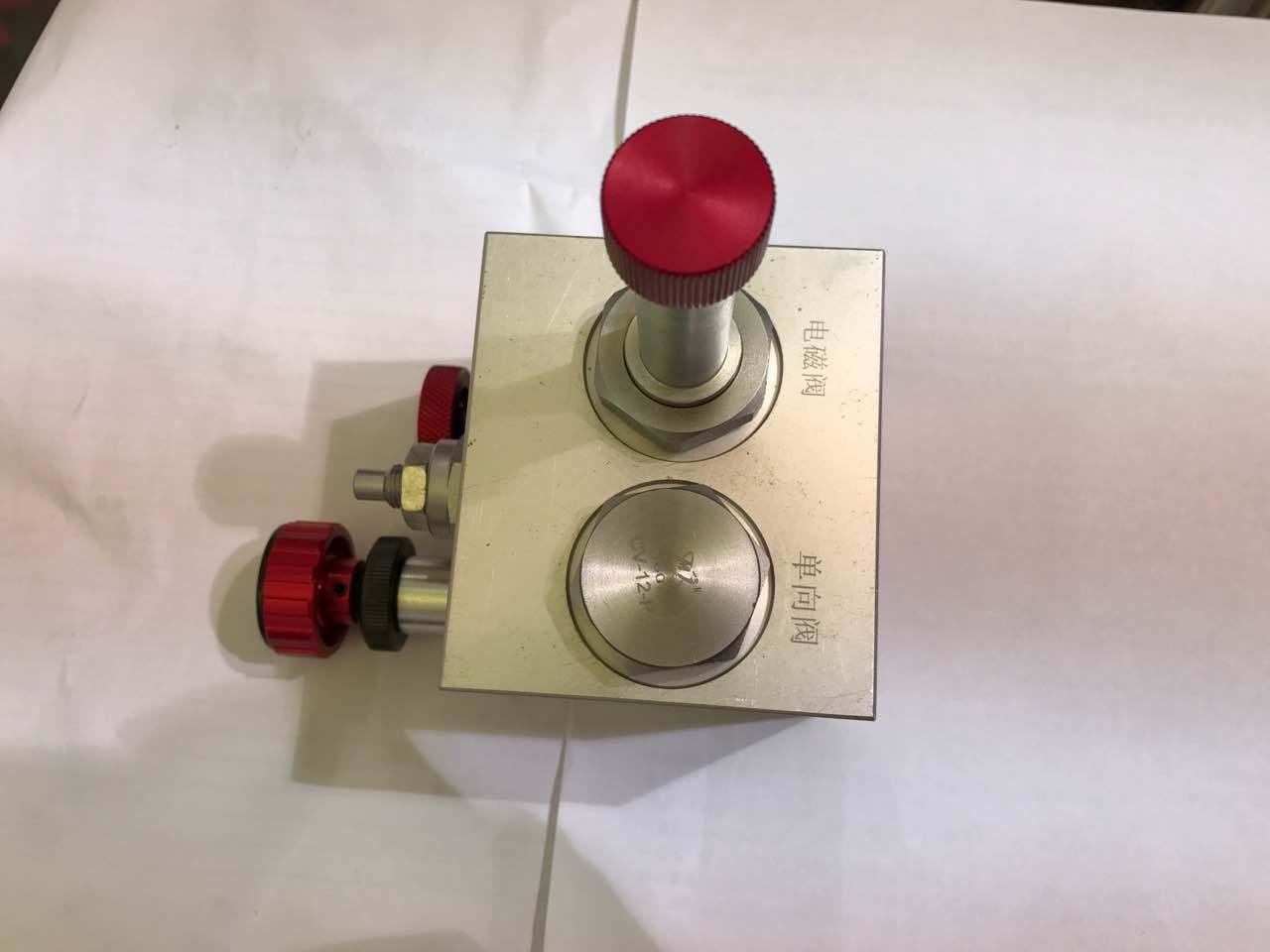 Surface Oxidized Lift Valve Block