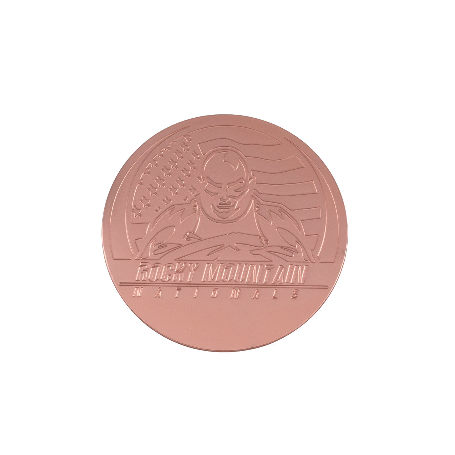 High Quality Stamping Copper Challenge Coin Gift