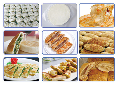 High Quality Hand Cake Production Line Egg Pie Kubba Pancake Production Line Manufacturer