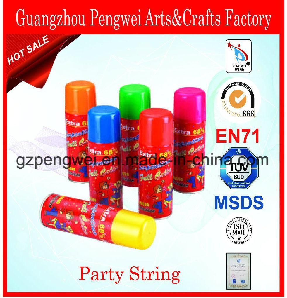 1 Oz Colorful Party Festival Silly String Spray
