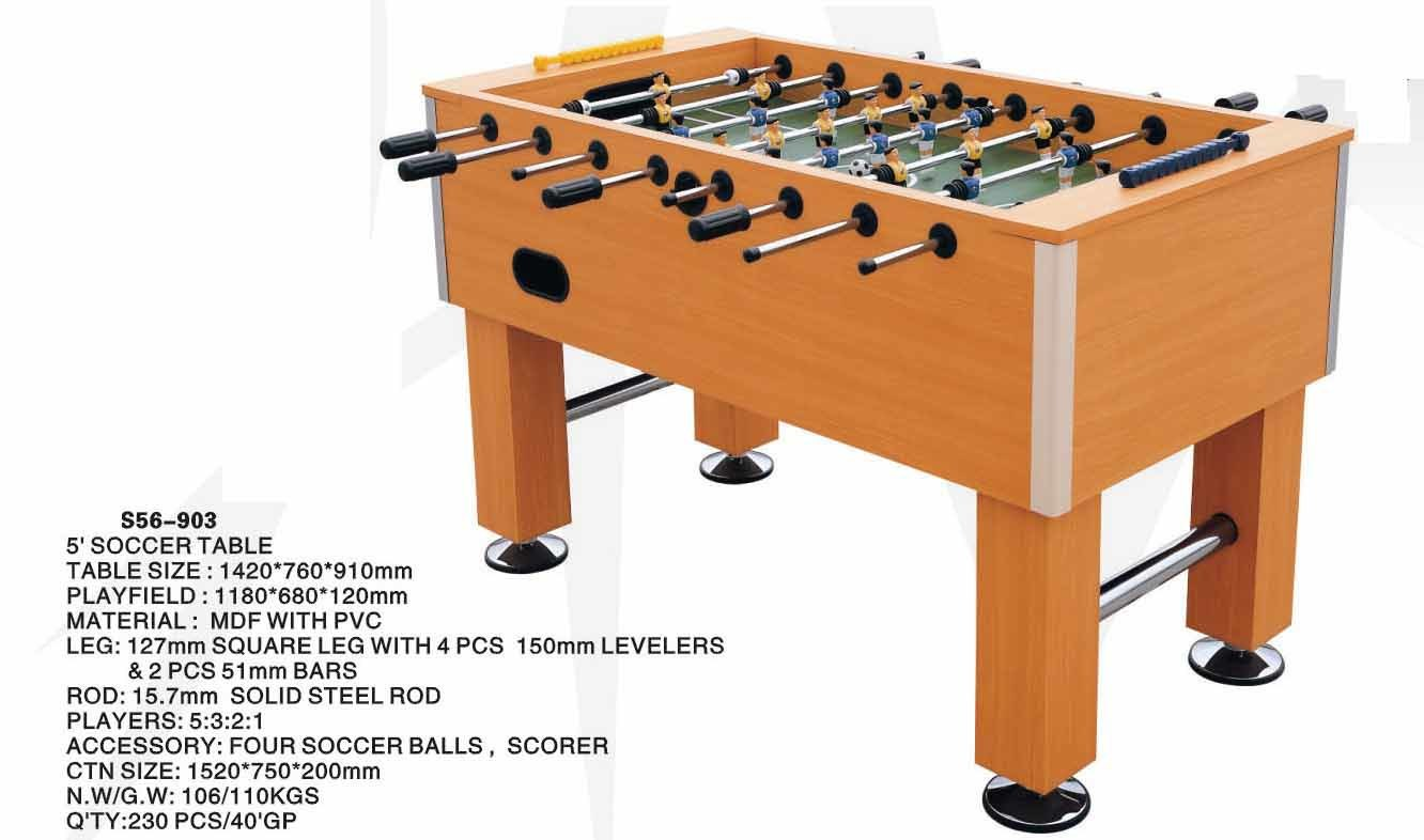 Pool Table Leg Levelers China Soccer Table Game (G-06) - China Football Game, Soccer Table