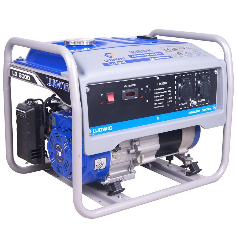 5kw Recoil Start Gasoline Generator