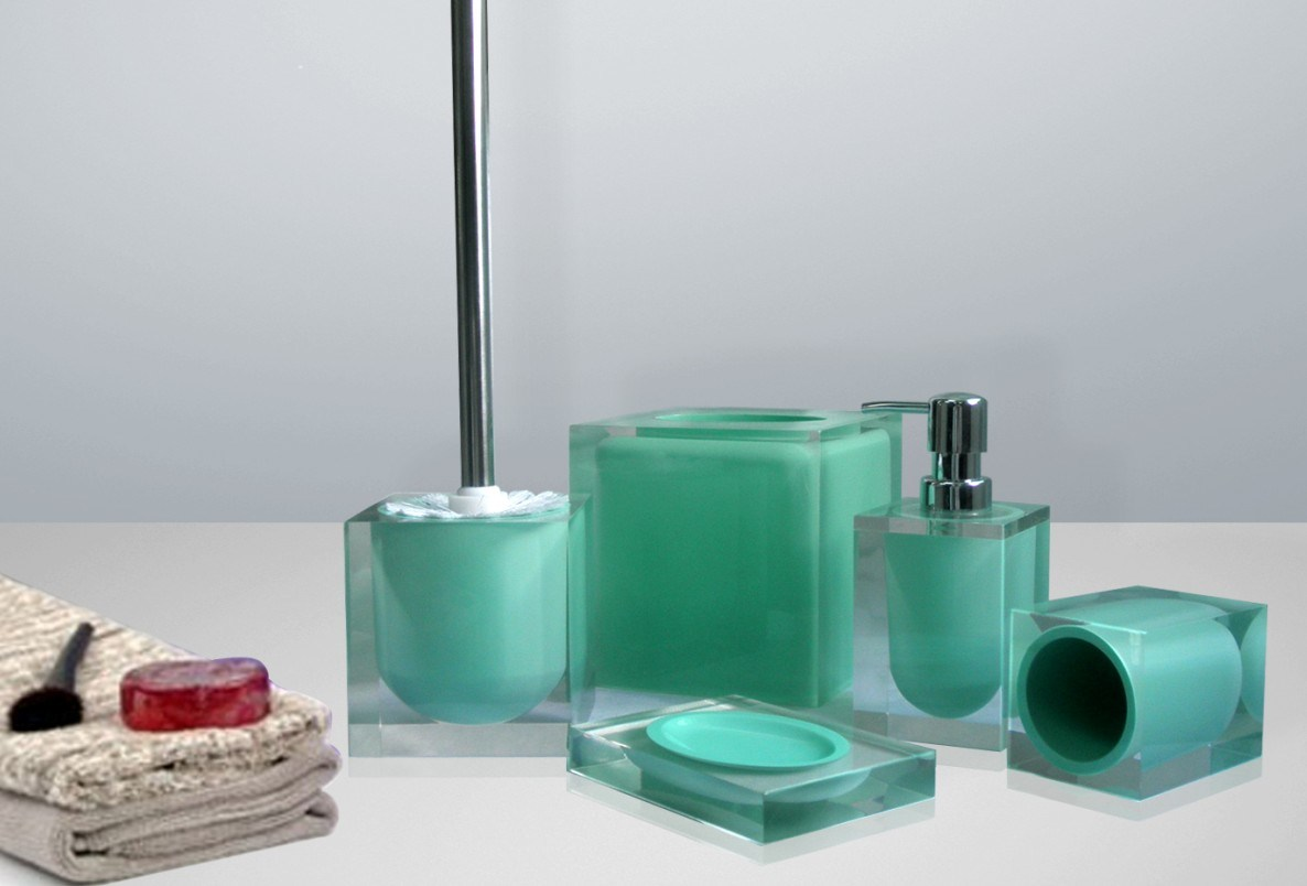 Accessories Will Liven Up Your Bathroom Resin Bath Accessories Feature