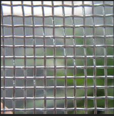 Plain Weave Galvanized Square Hole Wire Mesh
