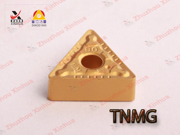 Tungsten Carbide Indexable ISO Turning Inserts Tnmg 160408