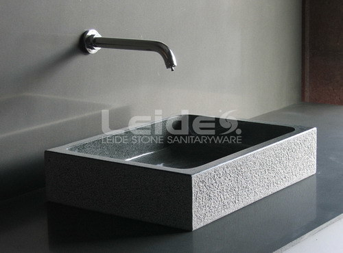China G654 Grey Granite Bathroom Sink (LDB006)  China Granite Bathroom Sink # Wasbak Lamp_182834