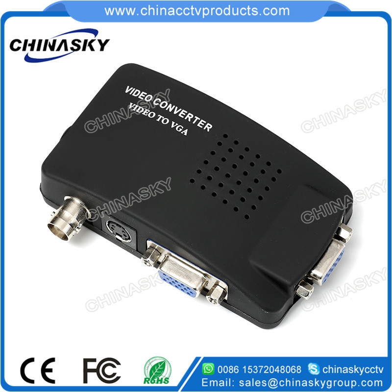 BNC to VGA Video Converter for CCTV Security System (BTV100)