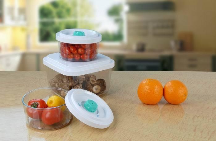 Food Vacuum Canister / Container 0.6qt/ 2.5qt