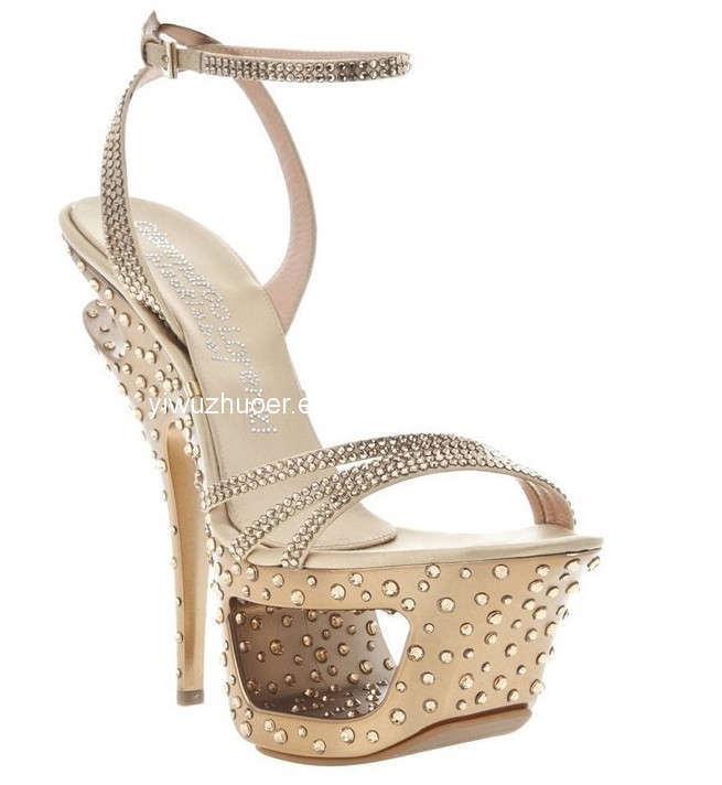 Gold Women Shoes
