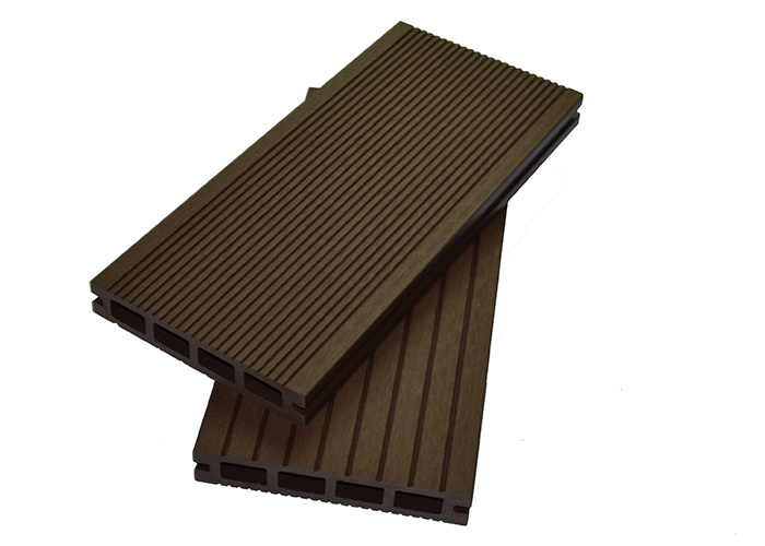 Co - Extrusion Outdoor Eco Composite Wood Flooring WPC Decking