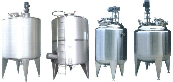 Stainless Steel Sanitary Liquid Preparation Tank