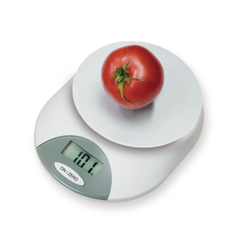 Smart Base Electronic Kitchen Scale with Big Bowl