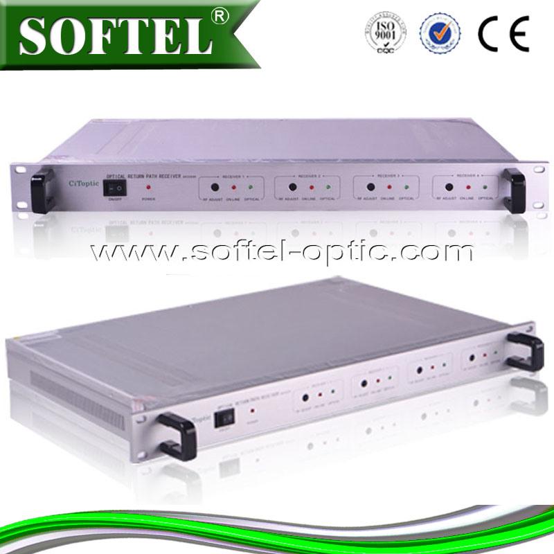4way Return Path Optical Fiber Receiver