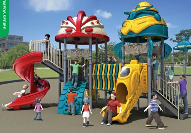 Funny Outdoor Playground Equipment (BJ1023A)