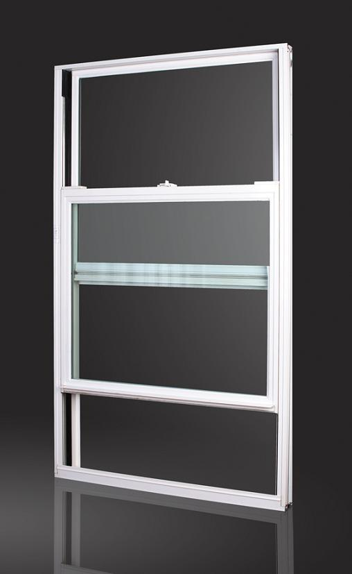 China double single hung window df70 china double hung for Window treatments for double hung windows