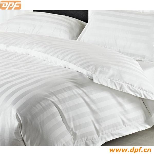 100% Cotton Comfortable Hot Sale Bedding Linen Hotel Textile (DPF90127)