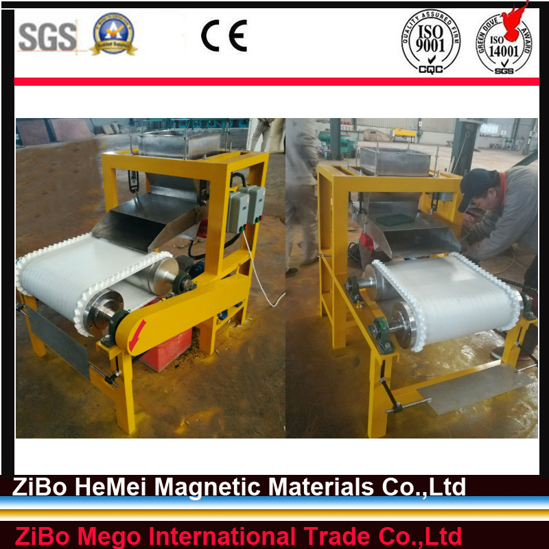 Magnetic Separator for Quartz, Silica Sand, Feldspar, Tire Recycling, Mineral Processing Machine