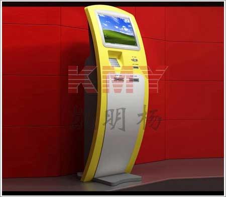 Fashionable Touchscreen Information Kiosk (8503C)