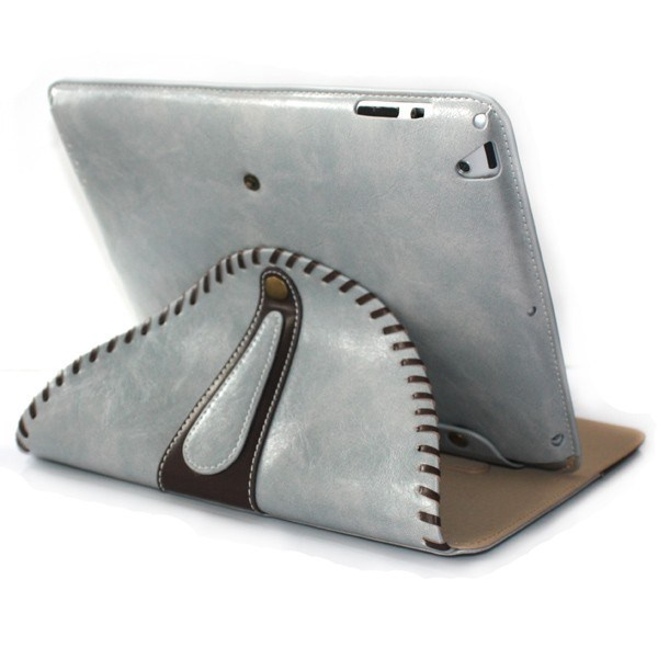 2 in 1 Standable Flip Leather Case for iPad 4
