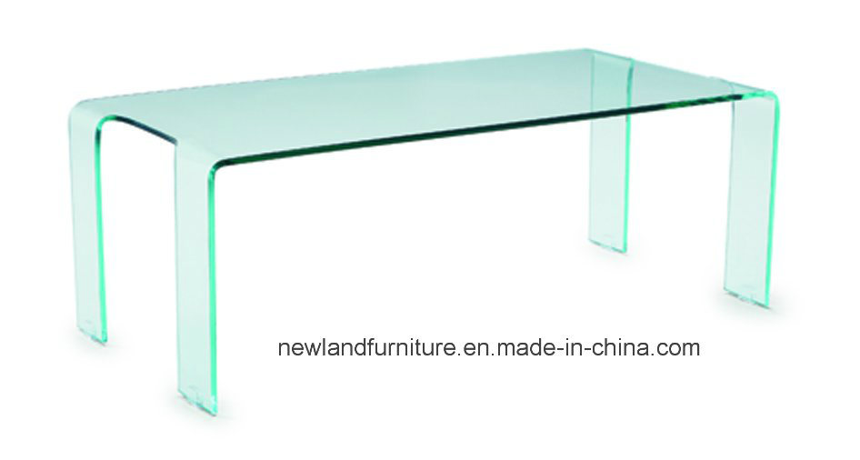 Hot Bending Glass Table of Modern Style (TB-582)