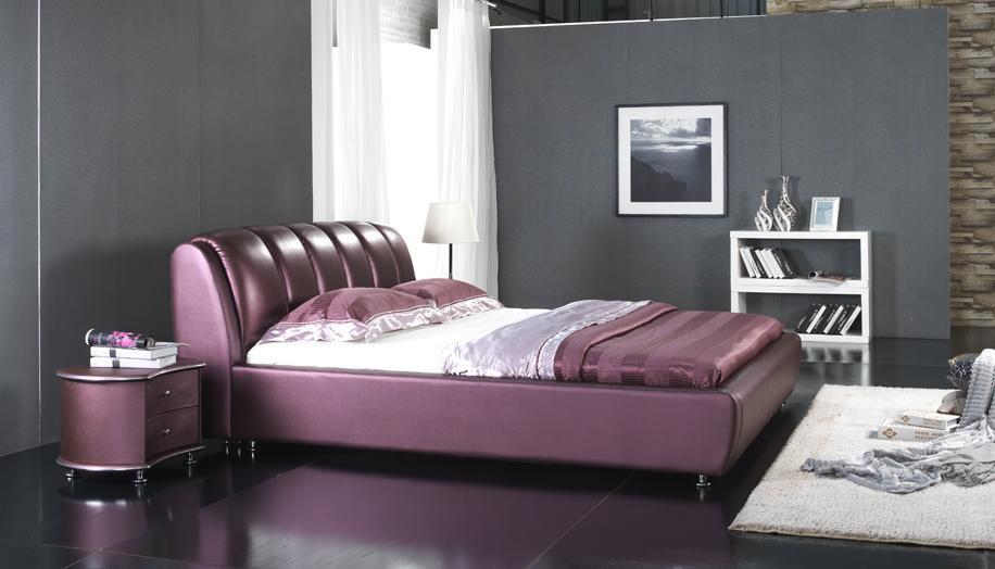 2012 New Design Elegant Soft Bed (6068)
