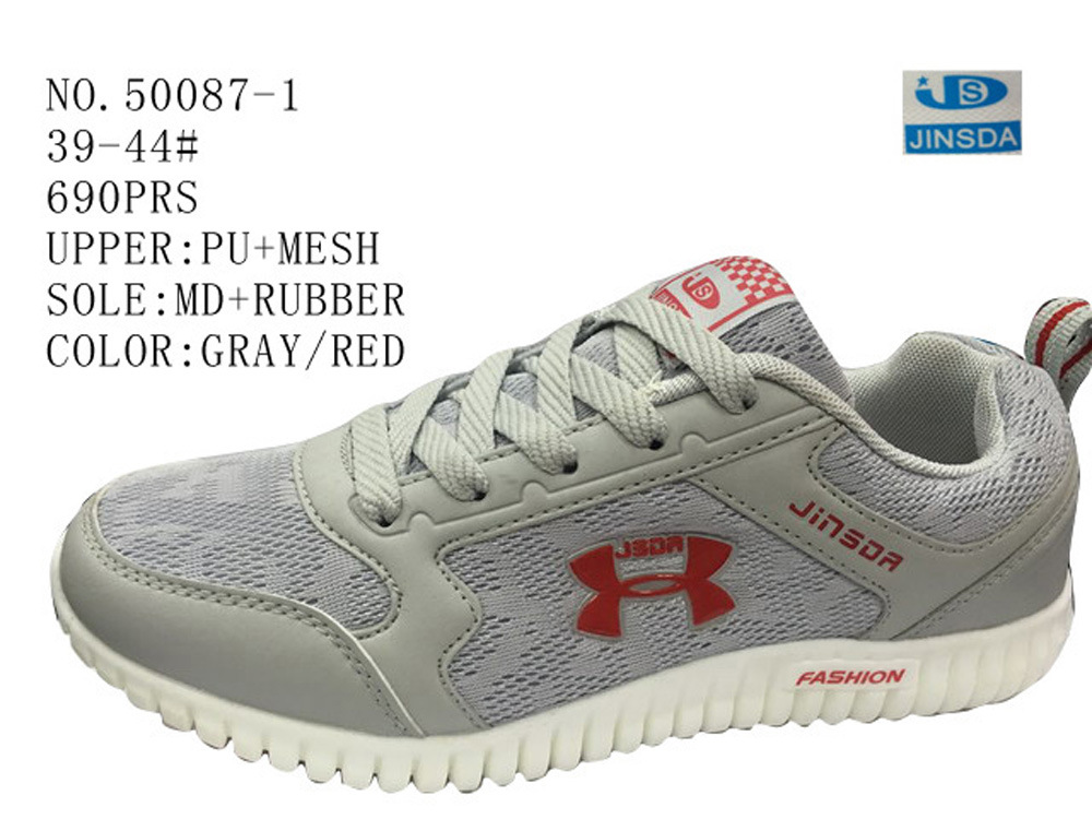 No. 50087 Mesh Upper Men′s Sport Shoes