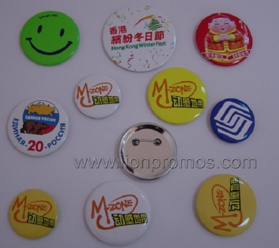 Custom Giveaways Gift Tin Plate Badge
