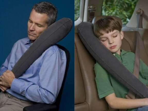 The Ultimate Inflatable Travel Pillow