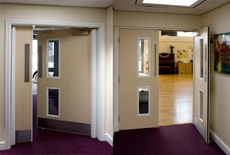 Entrance Wooden Door Fire Door for Apartment and Villa 100% Wood Door Bm Trada and UL Certified Fire Proof Door Standard