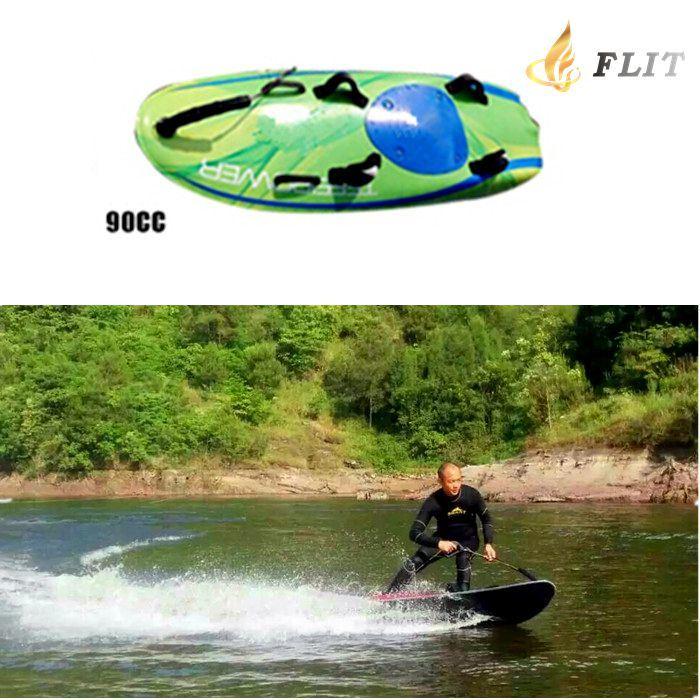 Flit Factory Jetsurf Board Carbon Fibre Power Surfboard Surfing Board Urltra-Light Tiger Shark