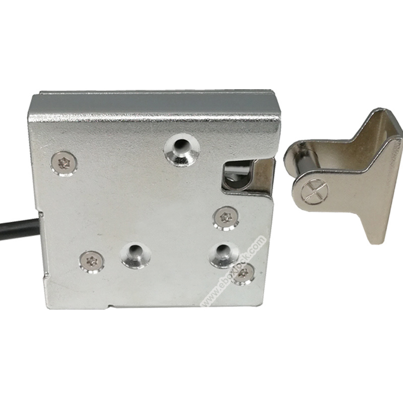 Electronic Cabinet Lock with Reporting and Manual Override