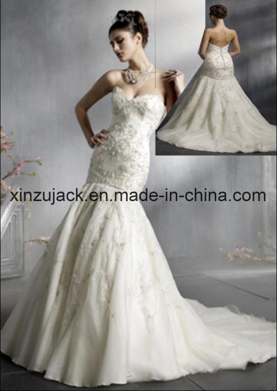 2012 Mermaid Wedding Dress XZ380