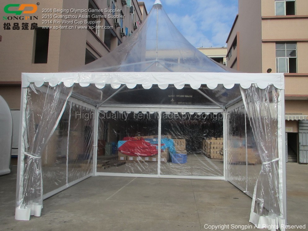 China Clear Roof And Sides 6x6m Transparent Canopy Tents