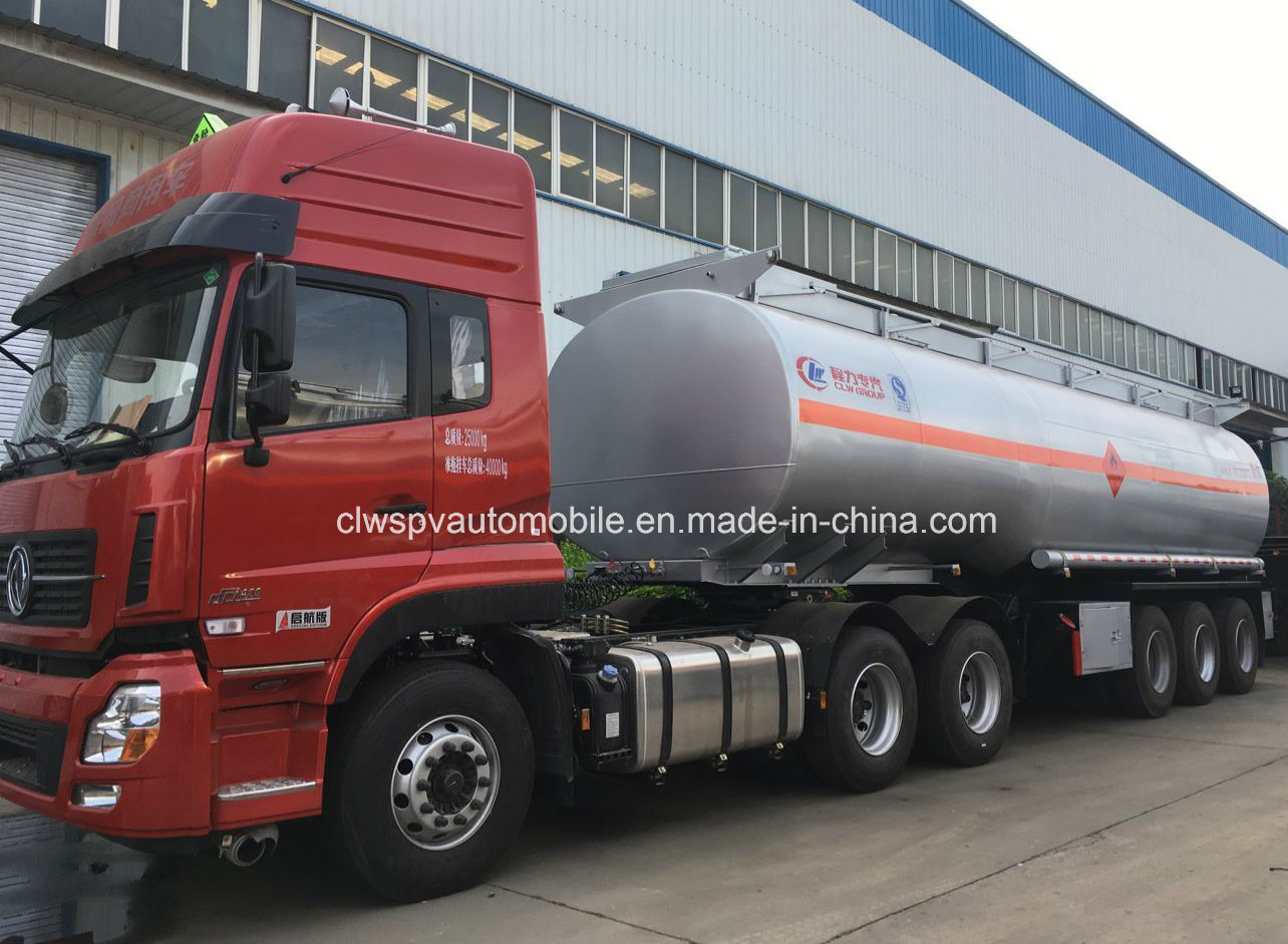 Heavy Duty 50000 Litres Fuel Tanker Trailer 3 Axles Steel Oil Tanker