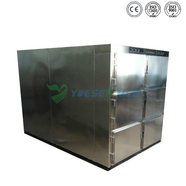Ysstg0106 Medical 6 Doors Morgue Freezer