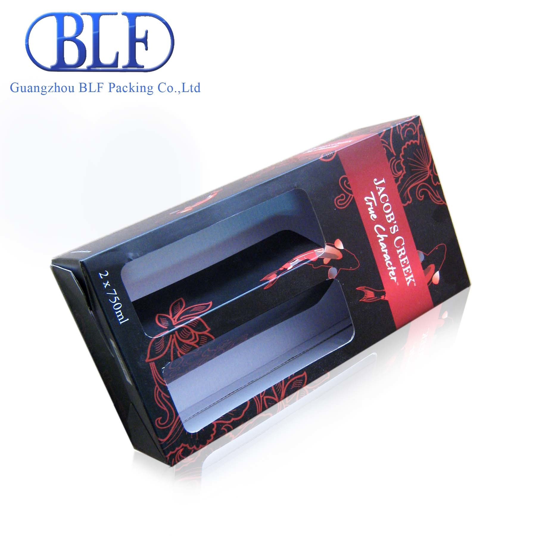 Wine Price Corrugated Paper Packing Box Calculation (BLF-PBO028)