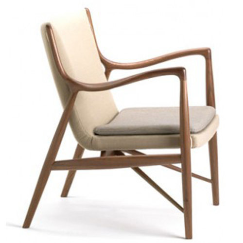 Commerical Furniture Livingroom Model 45 Chair by Finn Juhl