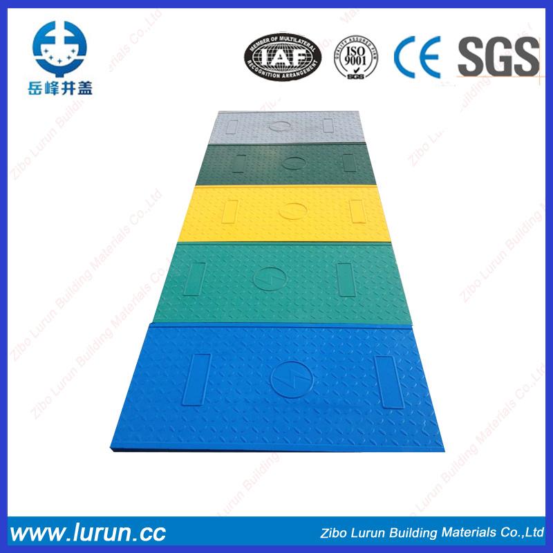 Square Fiber Glass Manhole Cover SGS En124