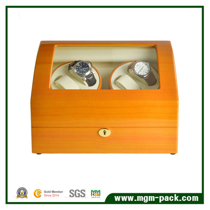 Luxury Piano Finish with Automatic Motors Watch Winder