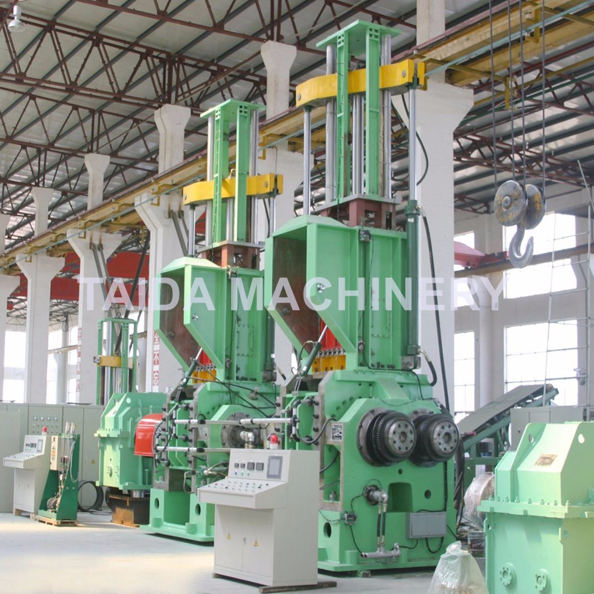 X (S) N-20, 35, 55, 75, 110 Liters Rubber Compounding Dispersion Pressurized Banbury Kneader Mixer Machine