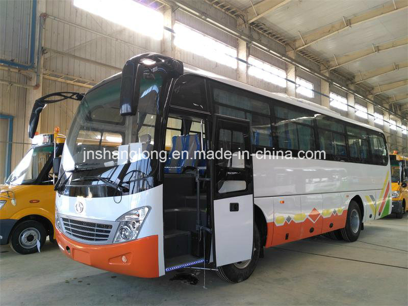 9.8 Metters 45 Seats City Bus for Africa with Cummins Engine