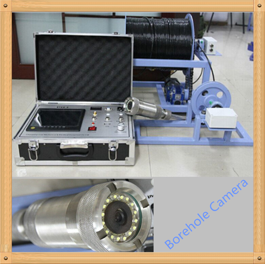 Pan and Tilt Water Well Camera, Borehole Inspection Camera, and Underwater Camera