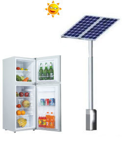 12V 24V DC Power Solar Refrigerator
